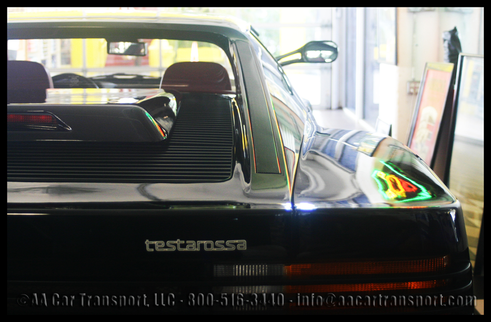 Ferrari Collecrtion Porsche Testarossa 1986