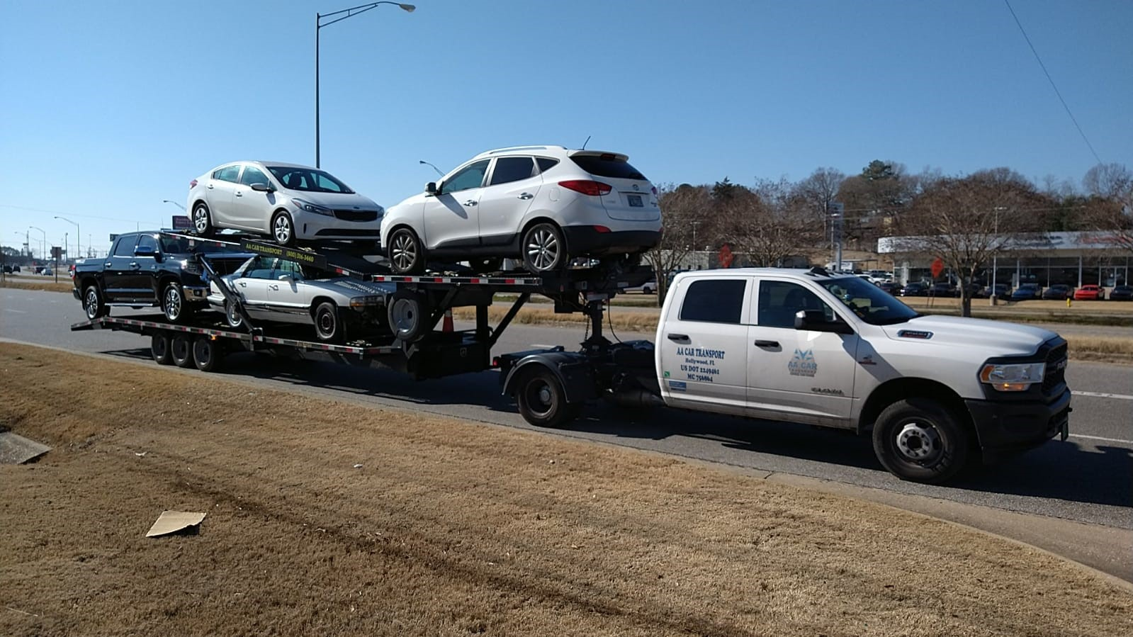 Shipping vehicles to and from Atlanta GA