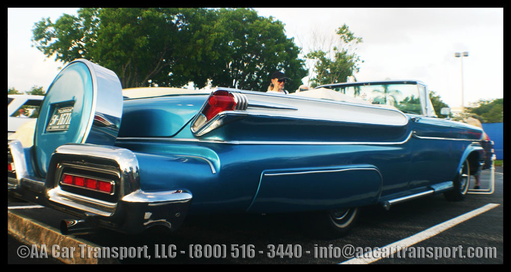 Blue Monterey - Classic Car Show - Davie FL May 2012