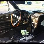 Corvette Sting Ray White - Classic Car Show - Davie FL May 2012