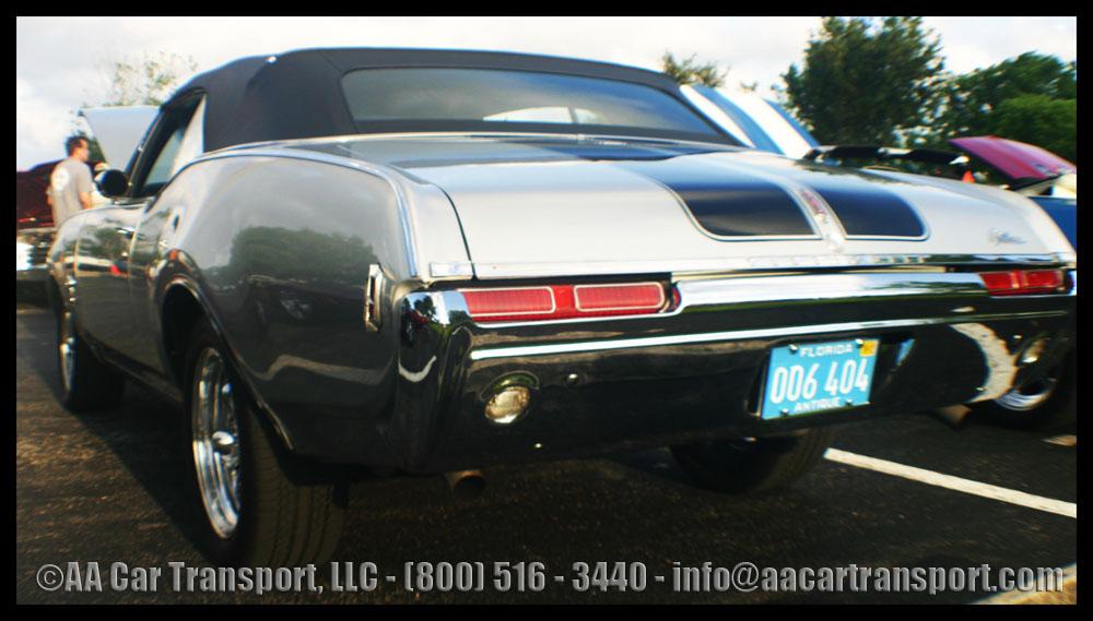 Davie FL Car Show Gray Cutlass