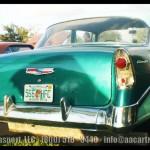 Davie FL Car Show White Green Chevy