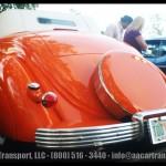 Davie FL Car Show Orange Bentley