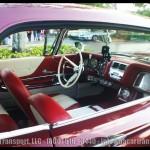 Davie FL Car Show Red Deville
