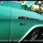 Davie FL Car Show Turquois Chevy