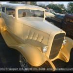 Davie FL Car Show White Classic