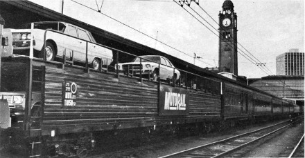 ship a car was via railways