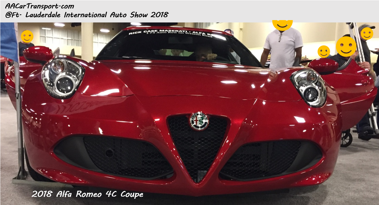 2018 Ft Lauderdale International Auto Show by AA Car Transport LLC
